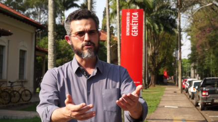Professor Mateus Mondin, da ESALQTec e do AgTech Valley