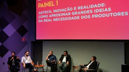 Antonio Morelli, da Agronow, e demais debatedores do StartaAgro