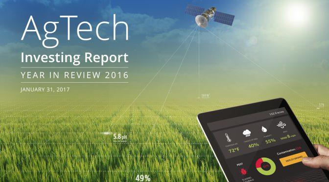 Relatório da AgFunder faz uma radiografia dos investimentos em startups AgTech