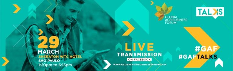GAF Talks vai ser transmitido ao vivo pela internet