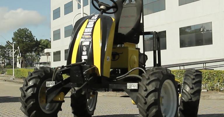 novas tecnologias agrícolas: minitrator